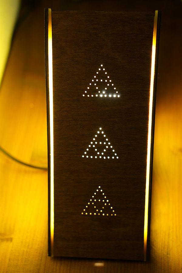 DIY Legend Of Zelda Lamp: The Triforce Of Thrift   Technabob