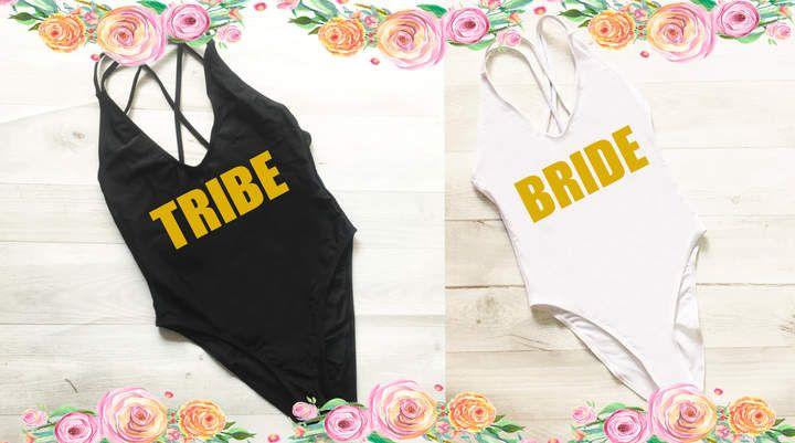 15215e231e7 Etsy Bachelorette Bathing Suit. Bride Tribe Swimsuit. Squad Swim.  Bachelorette Swimsuit. One Piece. #bridetribe #bacheloretteparty  #beachwedding ...