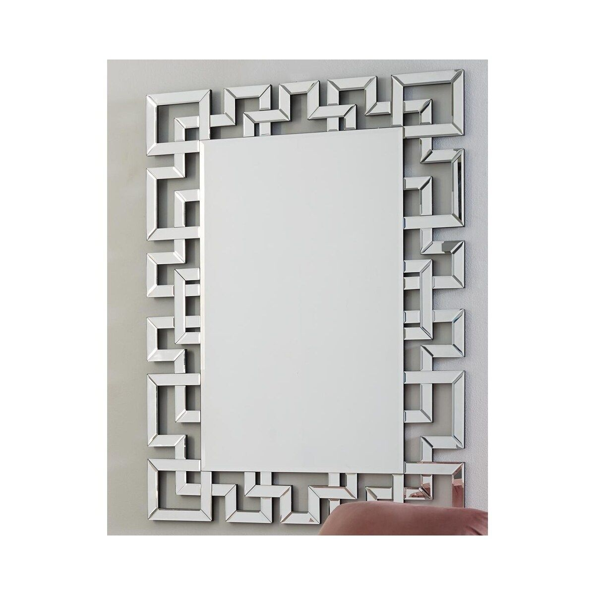 Jasna Contemporary Accent Mirror With Mirror Frame 36 W X 0 62