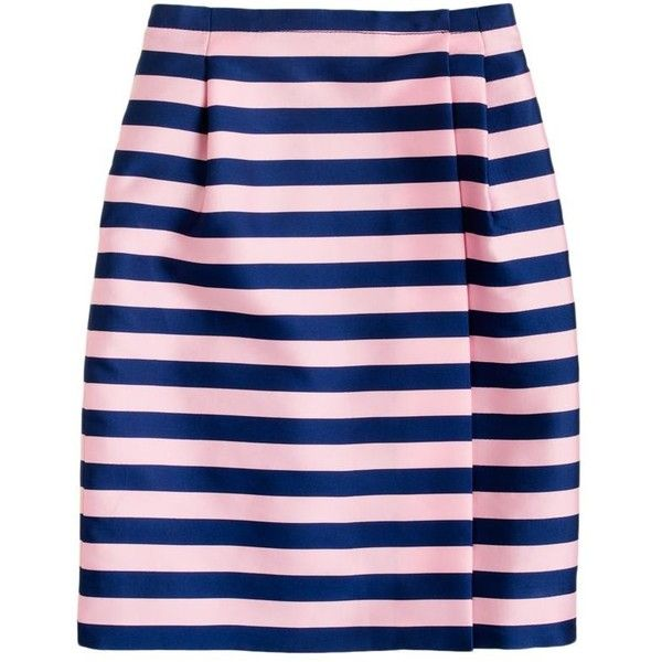 J.Crew Pencil wrap skirt ($168) ❤ liked on Polyvore