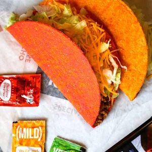 22262_Tacos_FieryDoritosLocosTaco_600x600 | Taco Bell