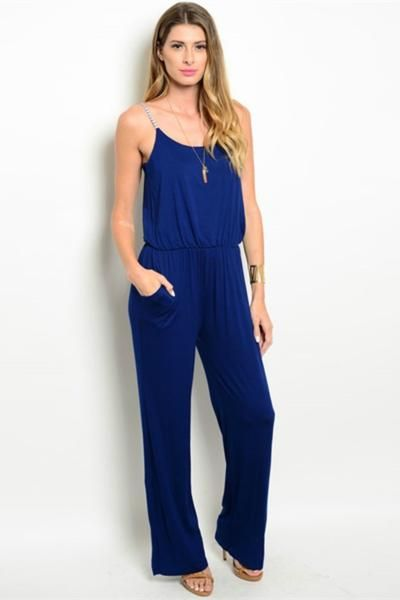 Women's Jumpsuits | Bailey Boutique | Off To The Navy Romper