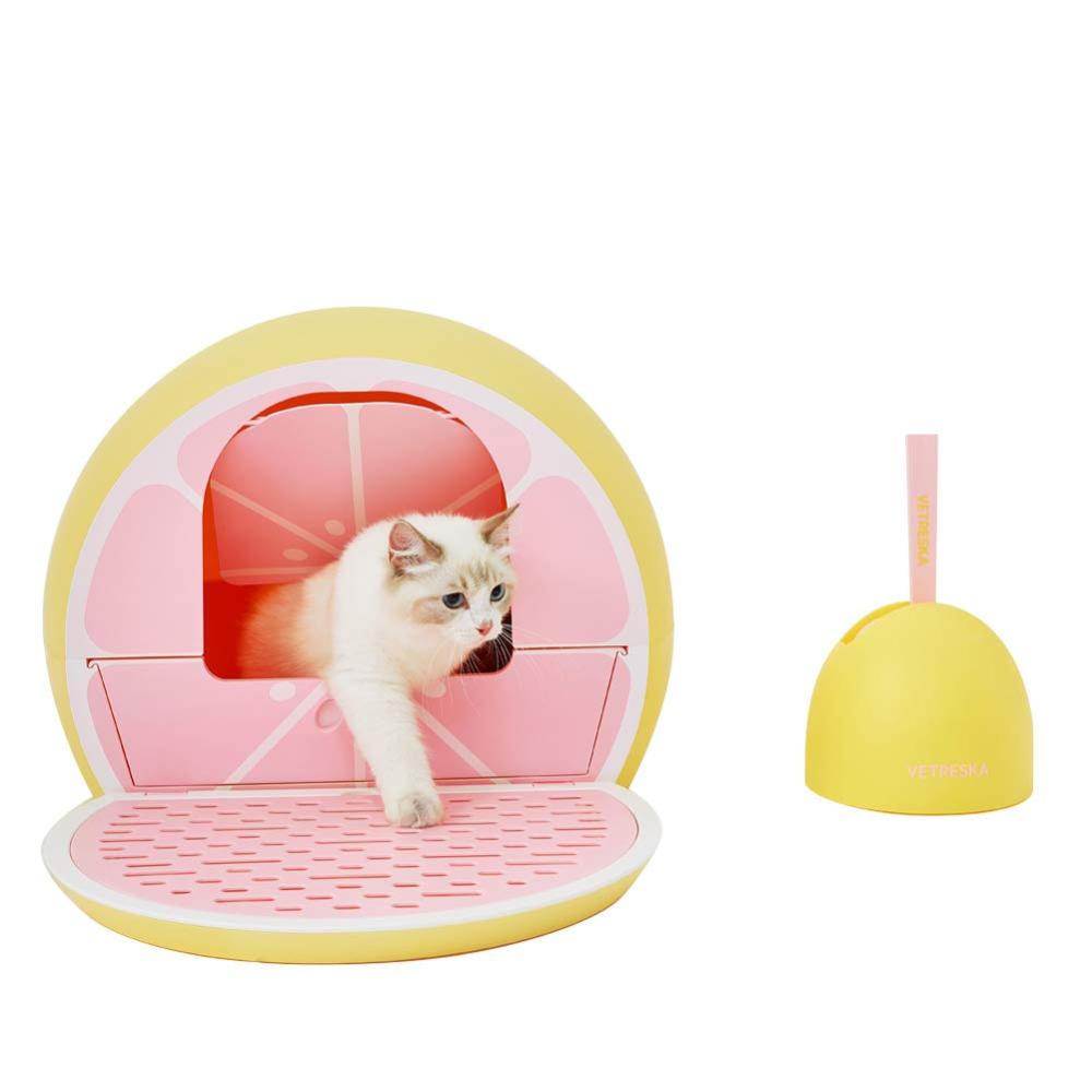 Amazon Com Vetreska Cat Litter Box Furniture Hidden Covered Litter Box Domed Cat Litter Box Sifti In 2020 Cat Litter Box Furniture Litter Box Furniture Cat Litter Box
