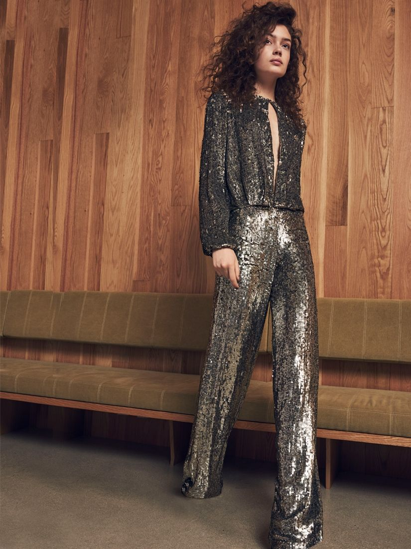 ariette pant silver | silver jumpsuits, shop alexis and shopping