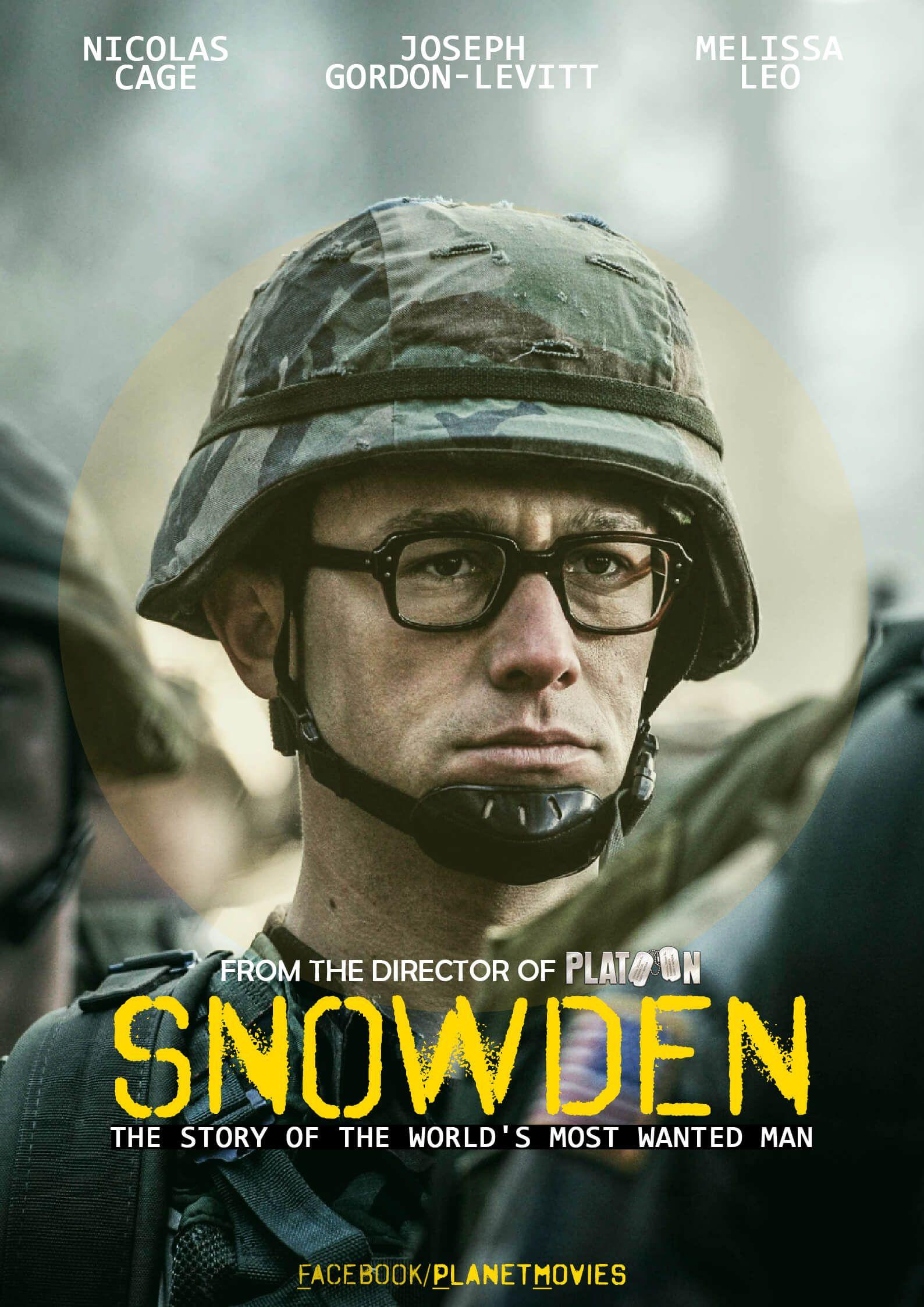 'Snowden', cinebiografia conta a história do ex-agente da CIA Edward Snowden (Joseph Gordon-Levitt). Em 2013..