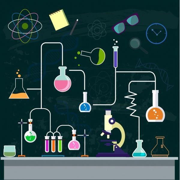 chemistry background experiment process decor lab tool. Black Bedroom Furniture Sets. Home Design Ideas