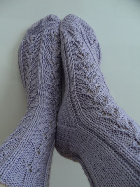 Pollie by free sock pattern | Free Knitting Patterns | Pinterest ...