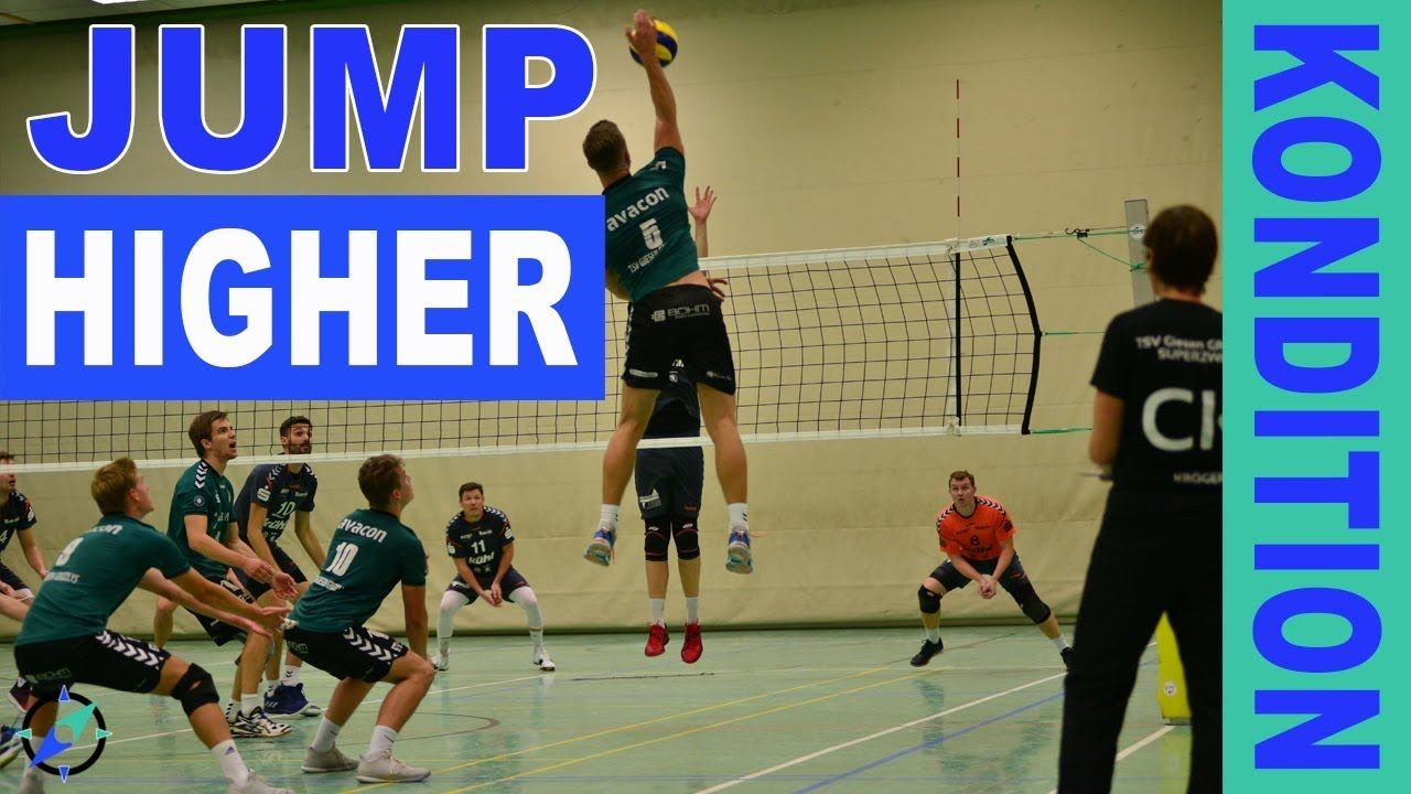 Jump Exercises Training For Volleyball Players Volleyball Training Trainingsubungen Volleyball