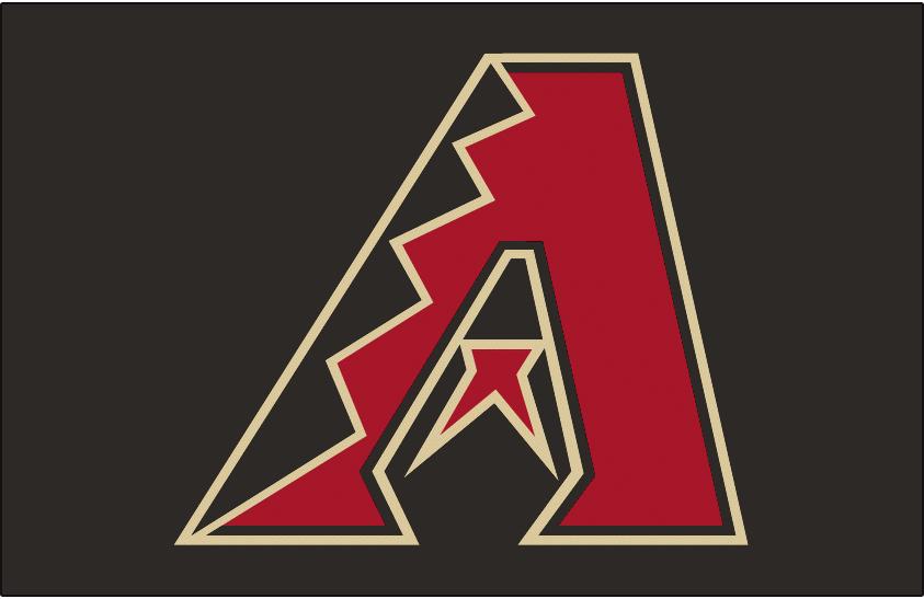 Arizona Diamondbacks Jersey Logo (2007) Black, red and