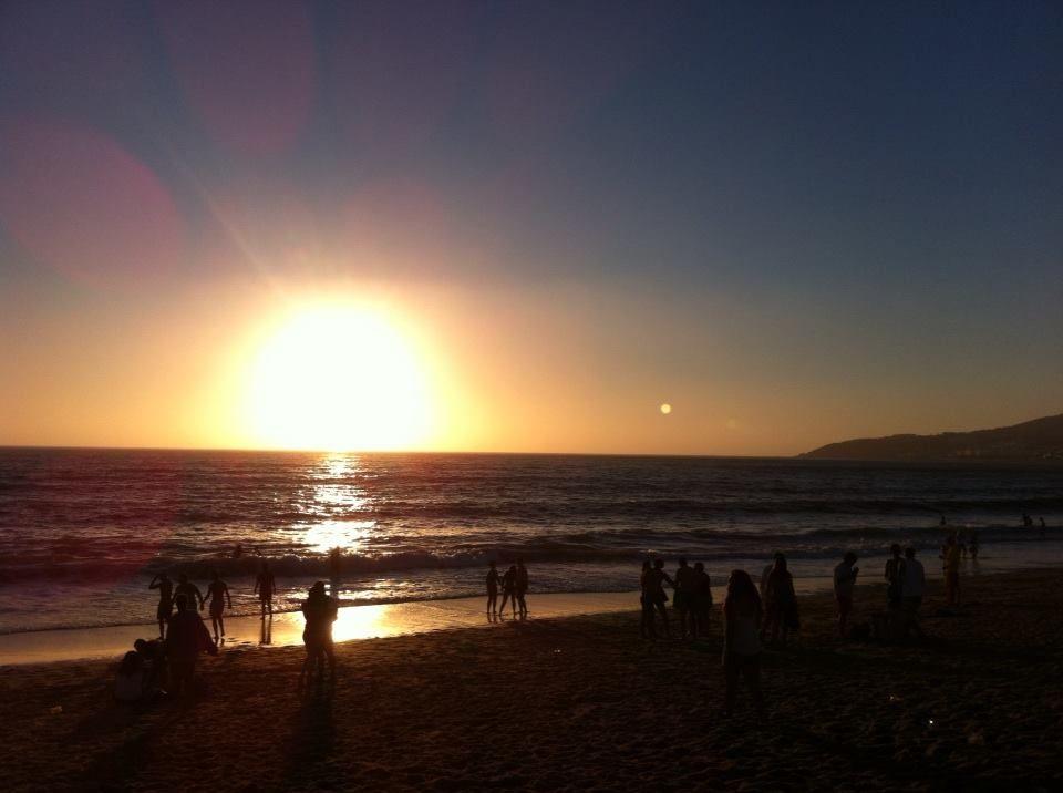 Belo por do sol... — em Figueira Da Foz.