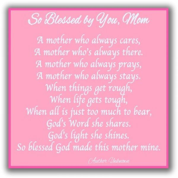 Happy Mother S Day Religious Quotes: Nice Valentines Day Poems For Mom Valentines Poems For
