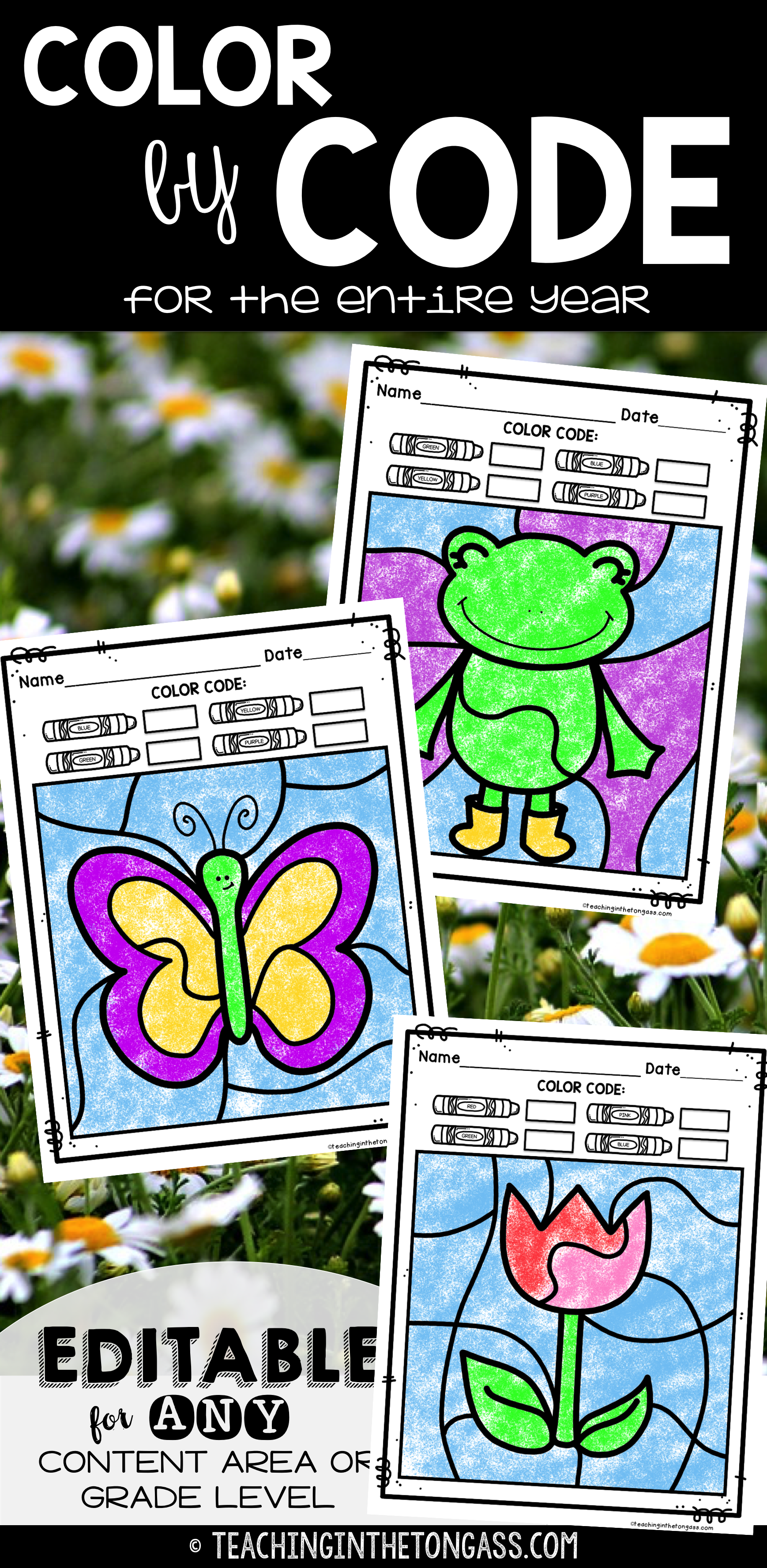 Spring coloring pages color by number - Spring Coloring Pages And Spring Activities For Kids Color By Number Color By Sight