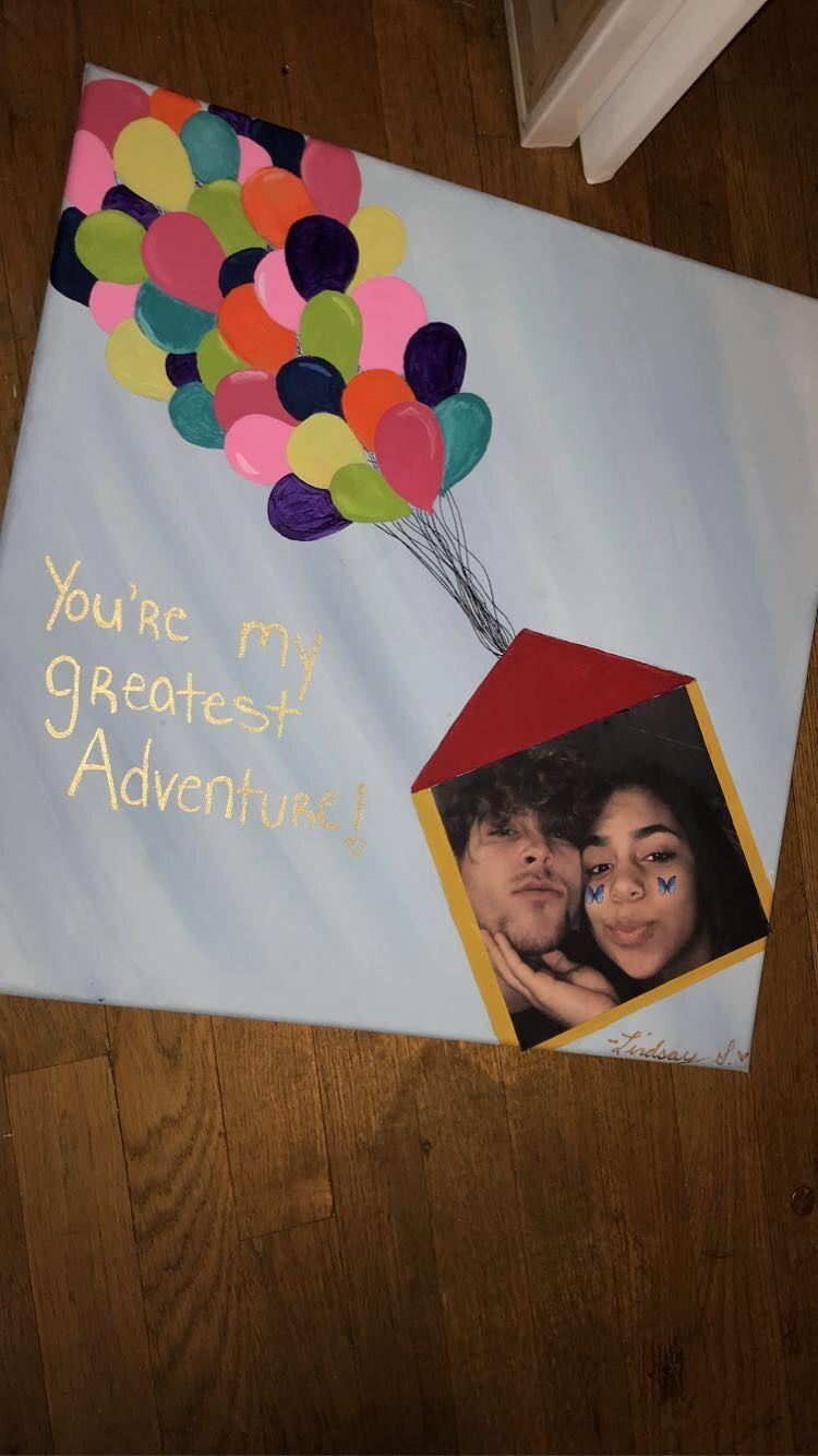 Canvas painting idea for boyfriendgirlfriend in 2020