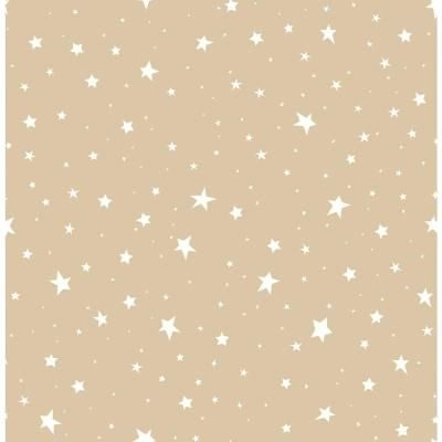 Brewster Gold Stars Gold Wallpaper Sample-2679-002124SAM