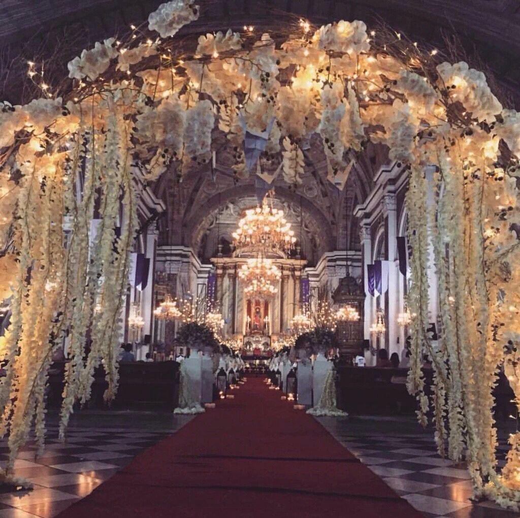 San Agustin Church Otwol Jadinehily Ever Afterchurch Weddingswedding Decorwedding