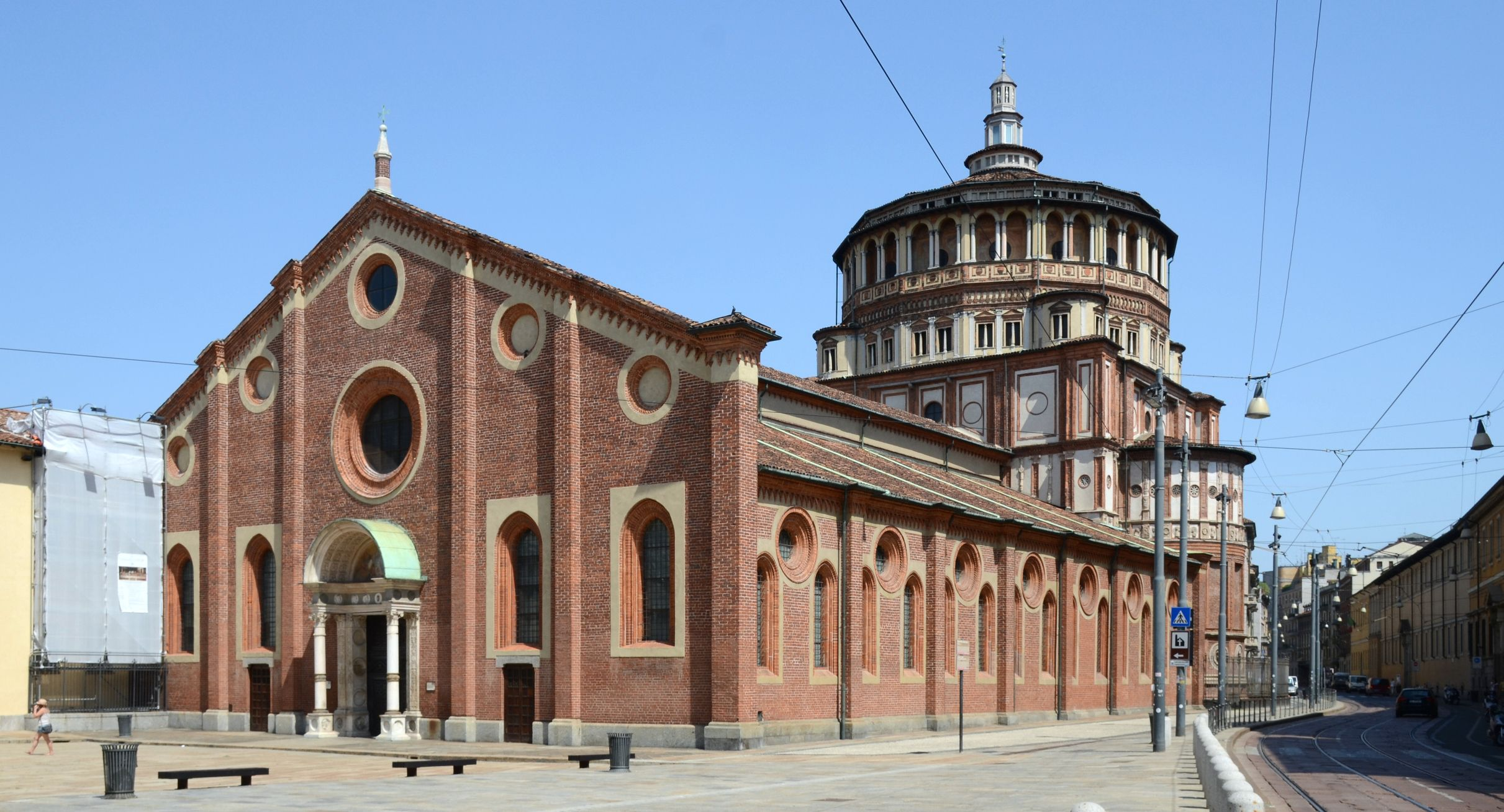 93 Church And Dominican Convent Of Santa Maria Delle Grazie With