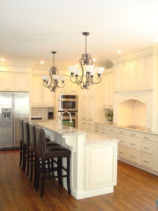 Looks so clean.   Home Decor - Kitchen   Pinterest   Küchen ideen ...