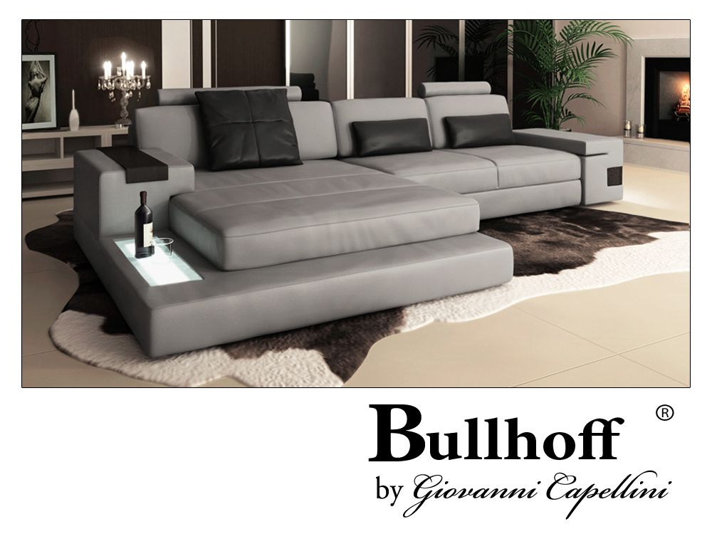 Ledercouch Hamburg Iii Luxus Couch Sofa Design