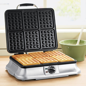 Kitchen Essential Large Waffle Maker Cuisinart Waffle Maker Waffles Maker Waffle Iron