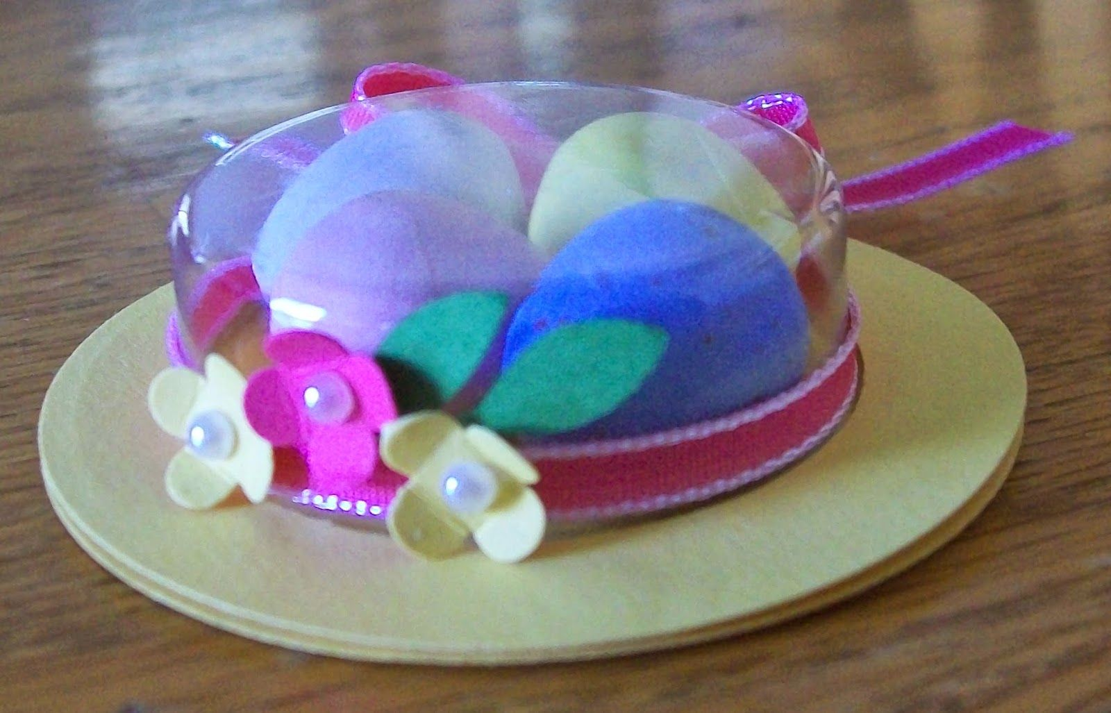 Easter Treat Holders with SU treat cups www.crazystampinglady.blogspot.com Maureen Rauchfuss