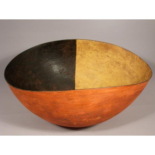 Steven Heineman earthenware bowl. 1994