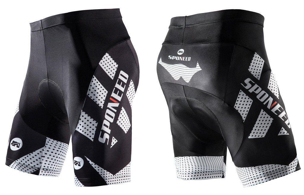 Mens Cycling Shorts Bicycle Road Bike 3D Padded Underwear//Shorts//Pants Black