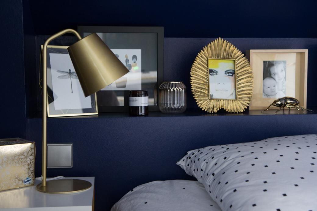 Nice Deco Chambre Blanc Et Bleu Marine That You Must Know You Re