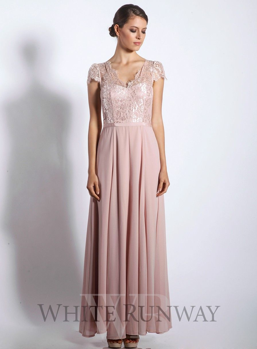Casino Lace Maxi Dress by Review | Champagne Bridesmaids ...