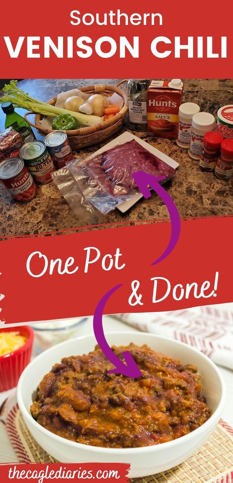 Best Deer Chili Recipe Ever Recipe Deer Meat Recipes Deer Chili Recipe Chili Recipe Easy