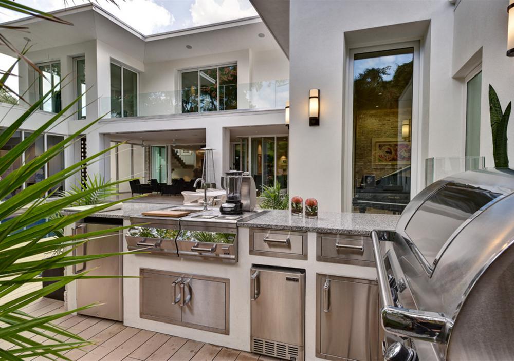 Granit Arbeitsplatte Outdoor Küche : Die granit arbeitsplatten sind auch in der outdoor küche