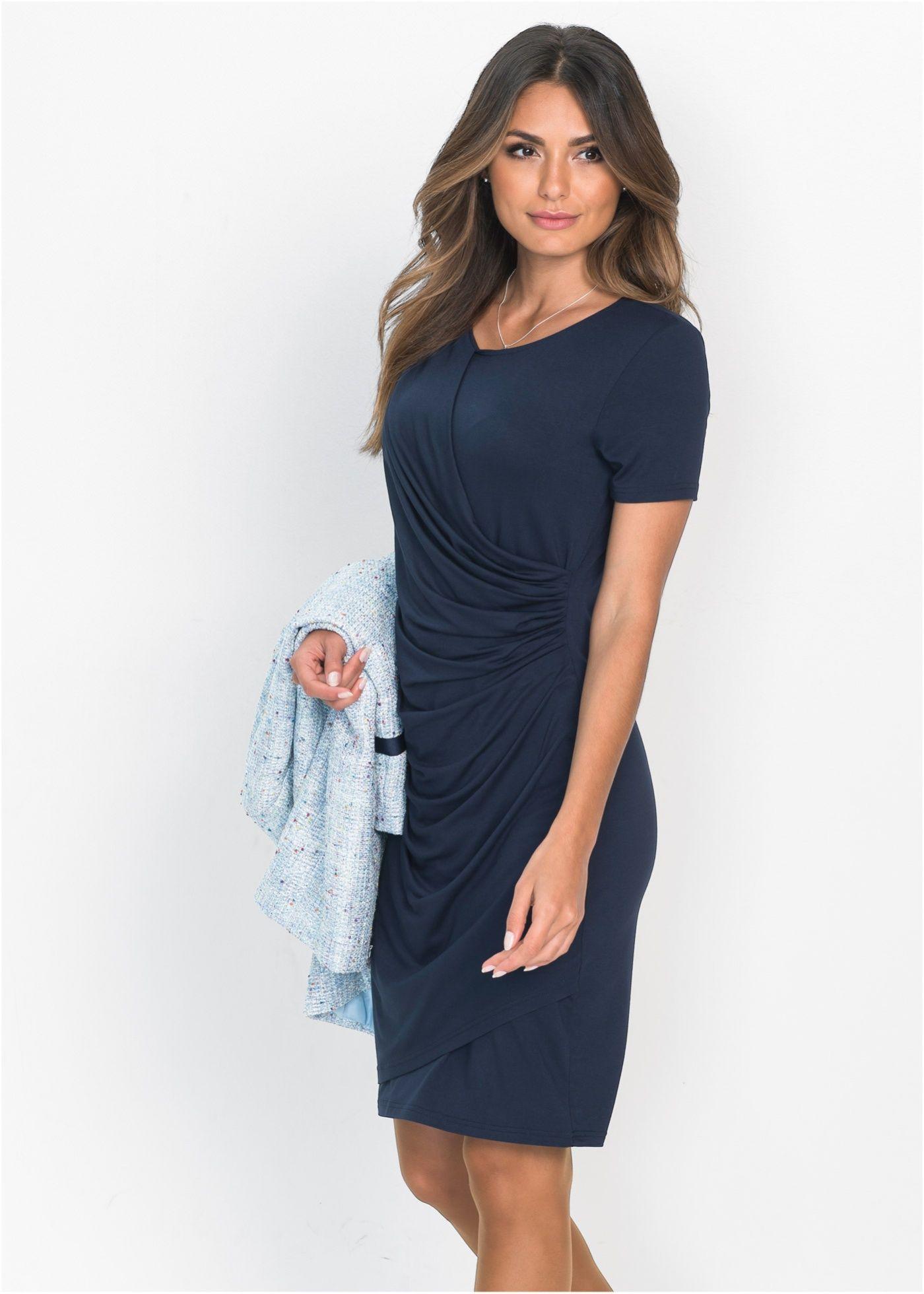 Šaty tmavě modrá - Žena - bonprix.cz f21d2b56e44