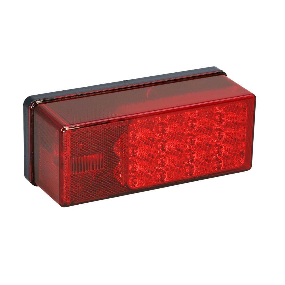 Left Side 8 Function Waterproof Submersible Boat Trailer Tail Light