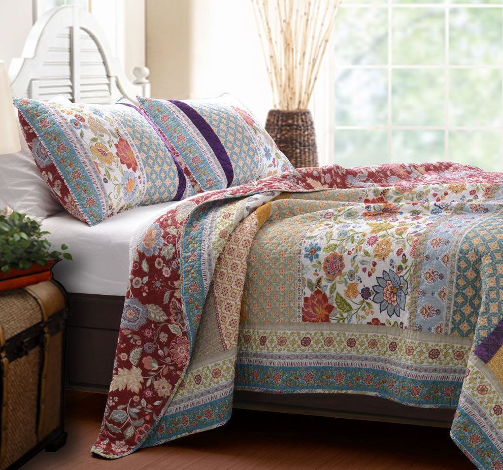 15 Casual Quilt Bedding Sets King Photography Em 2020 Cama Casal