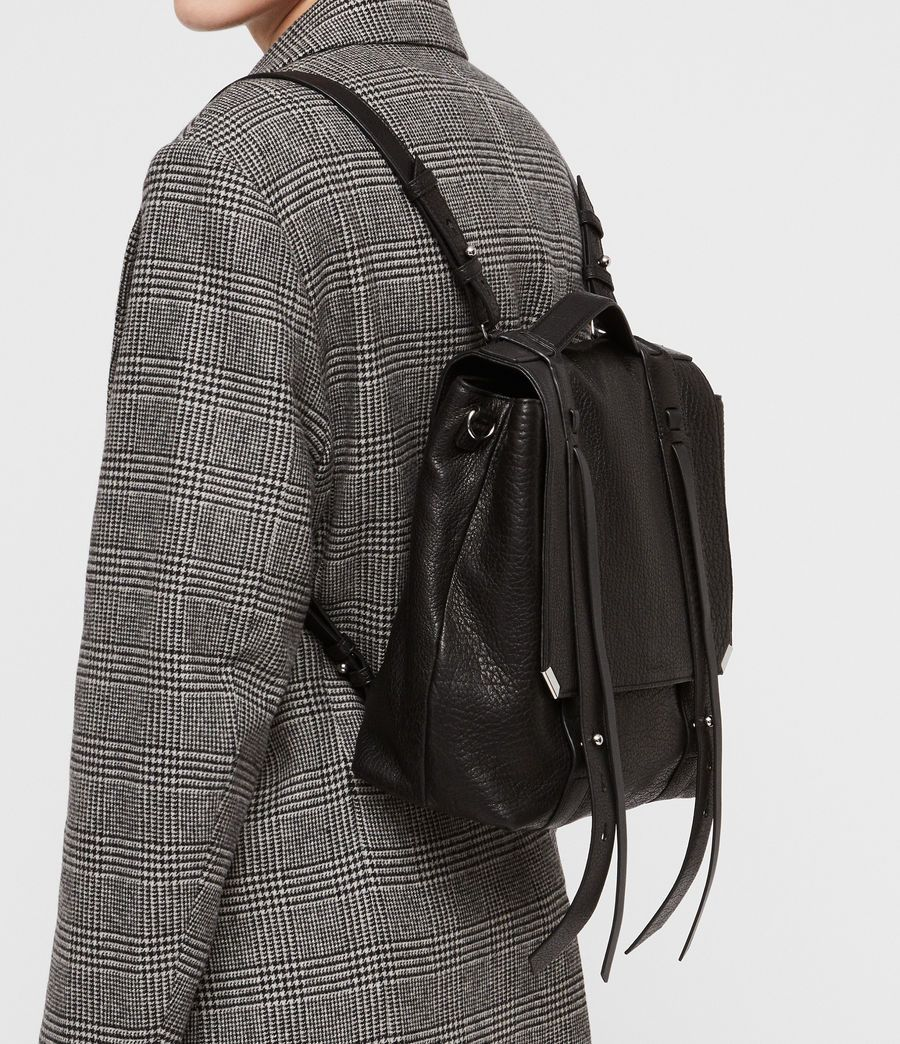 1e906d3d5 ALLSAINTS US: Womens Vincent Leather Backpack (black) | Maybe if I'm ...