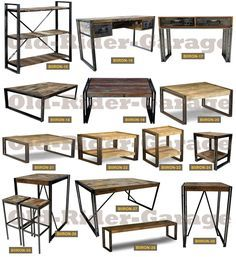 Old rider muebles vintage metal pinterest for Muebles industriales baratos