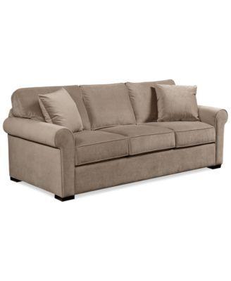 Remo Ii Fabric Sofa Furniture Macy S Sofa Bed Furniture