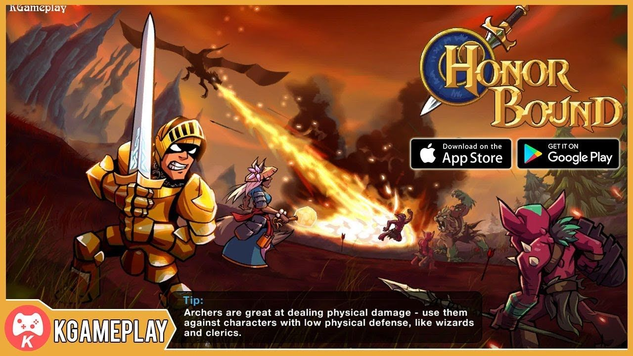 Honorbound rpg gameplay ios android