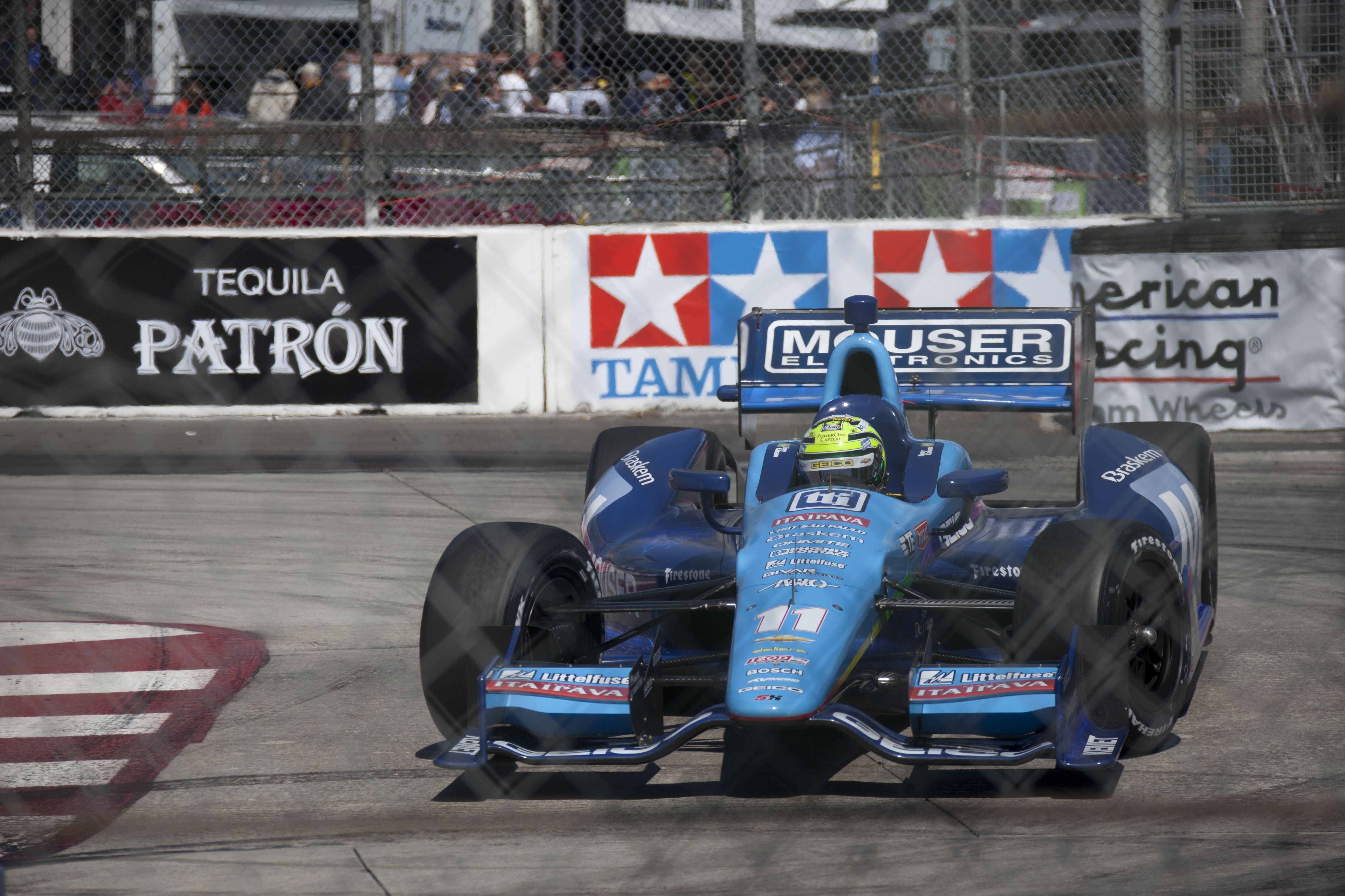 Tony Kanaan In The Mouser 11 Indy Cars Long Beach Concept