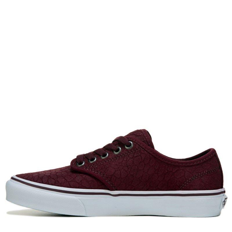 Vans Women's Camden Deluxe Ultra Cush Sneakers (Croc Burgundy) - 7.0 M