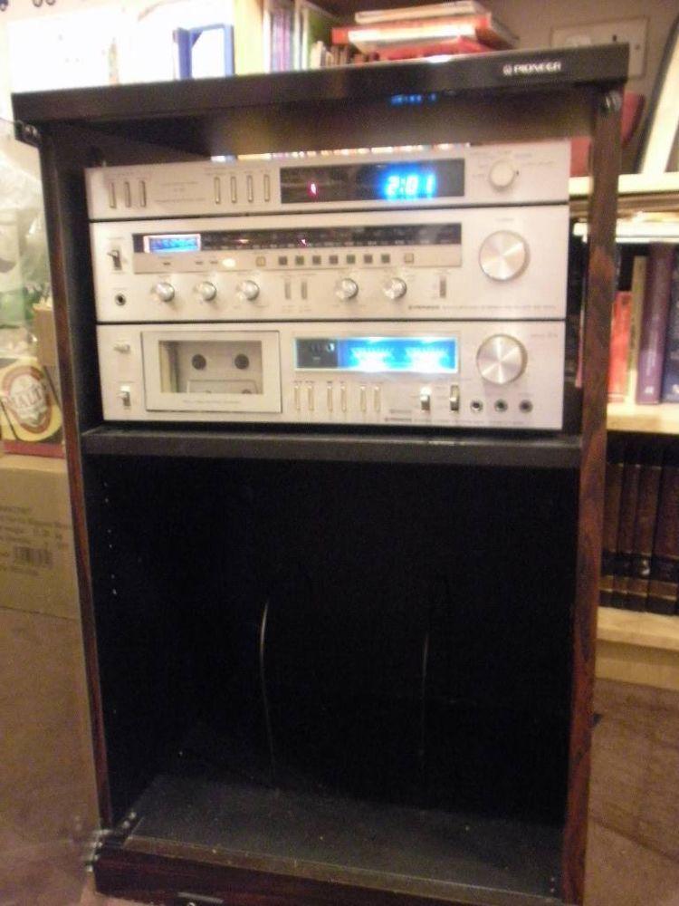 Vintage Pioneer Hi-Fi Units & Cabinet Models # CU-PDO13, DT-510 ...