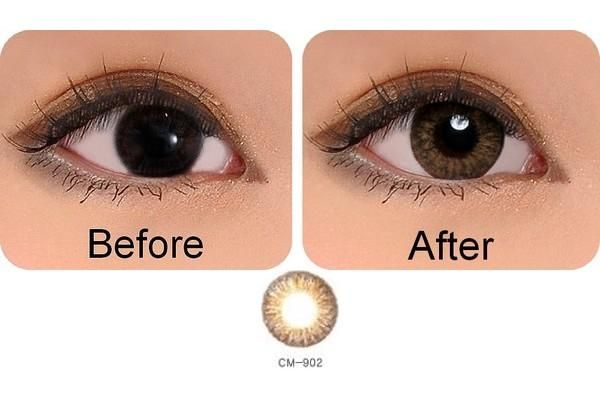 contacts for brown eyes | honey amber are found in every ...