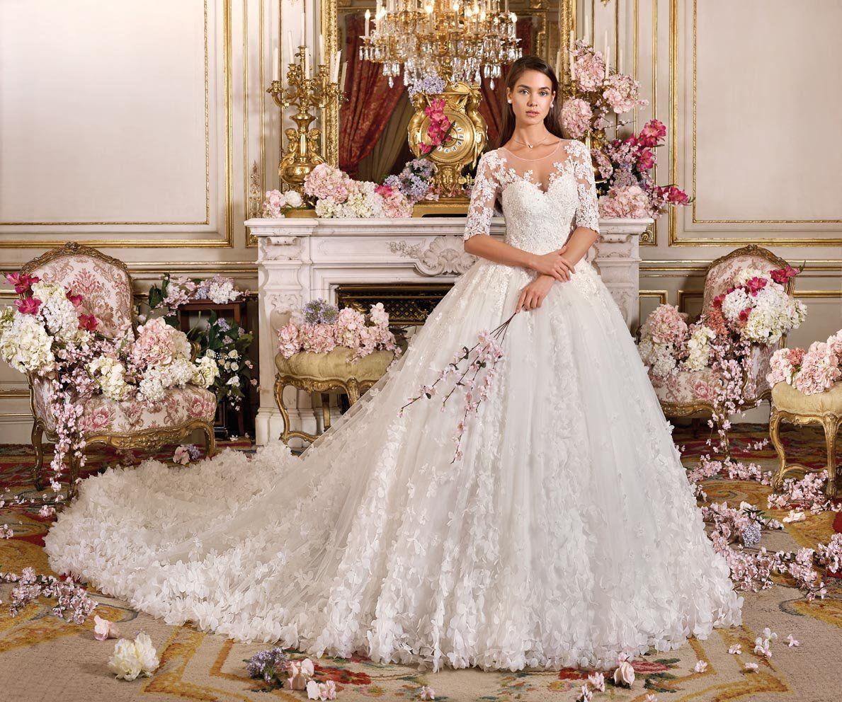 Demetrios Platinum The Royal Romance Collection Augusta | Wedding ...