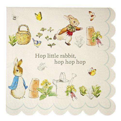 Meri Meri Peter Rabbit Large Napkins Meri Meri https://www.amazon.it/dp/B00IWCEFU4/ref=cm_sw_r_pi_dp_3LaAxbP1WCRC9