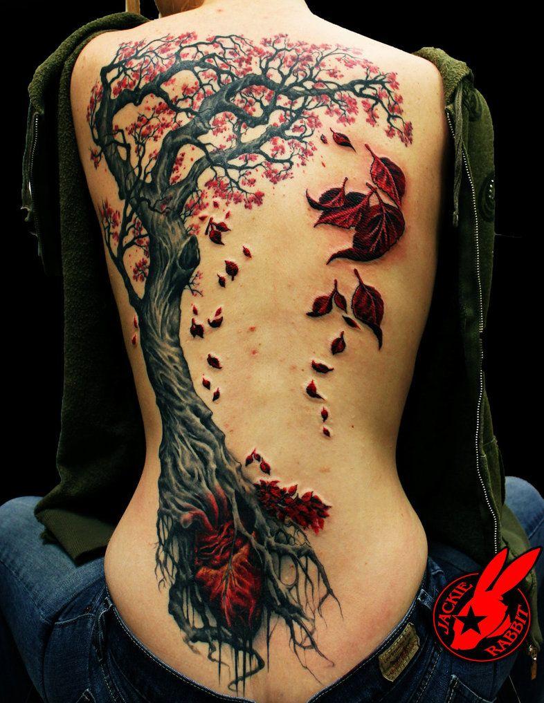 heart tree tattoo by jackie rabbit by on deviantart tattoo. Black Bedroom Furniture Sets. Home Design Ideas