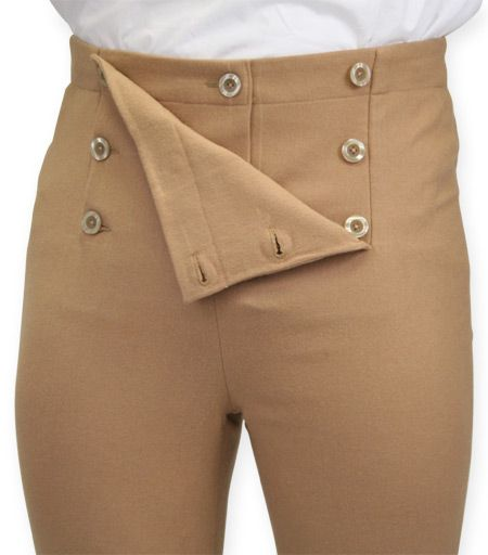 Fall Front Trousers - Camel [002606]