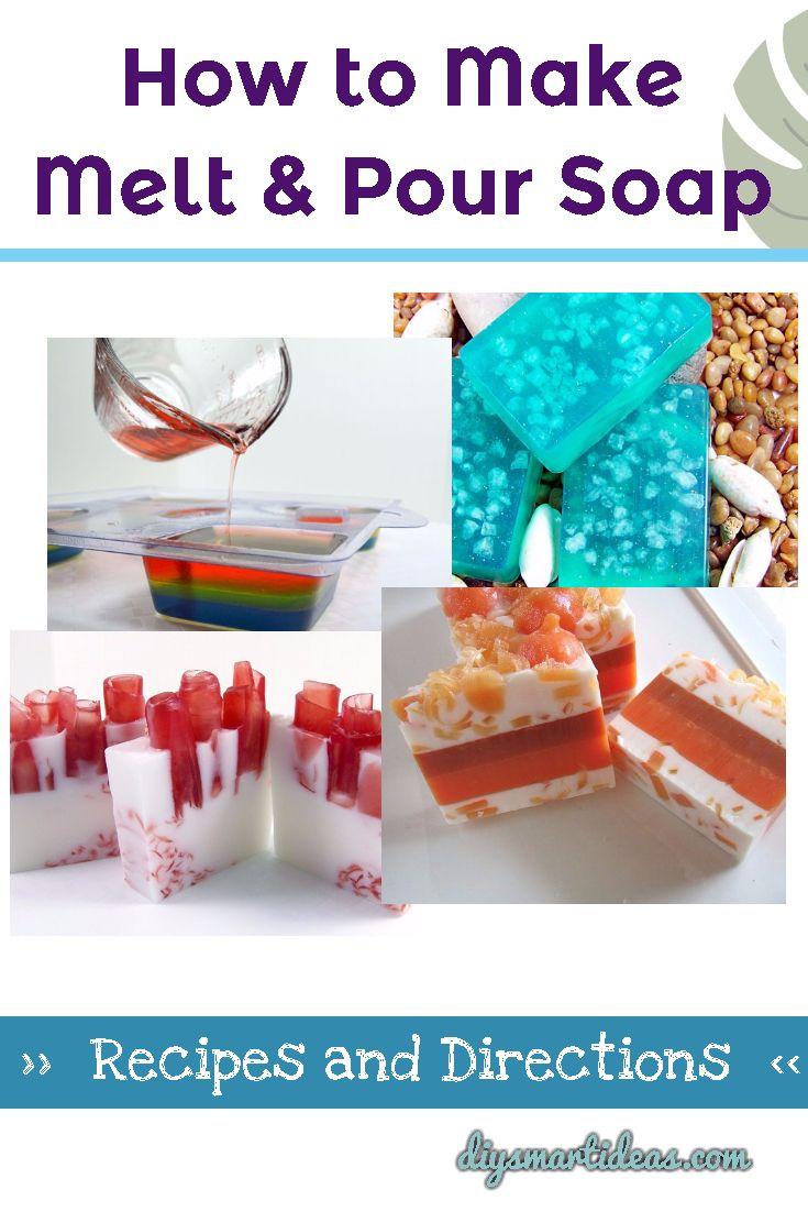 Homemade Glycerin Soap Recipes in 2020 Homemade soap