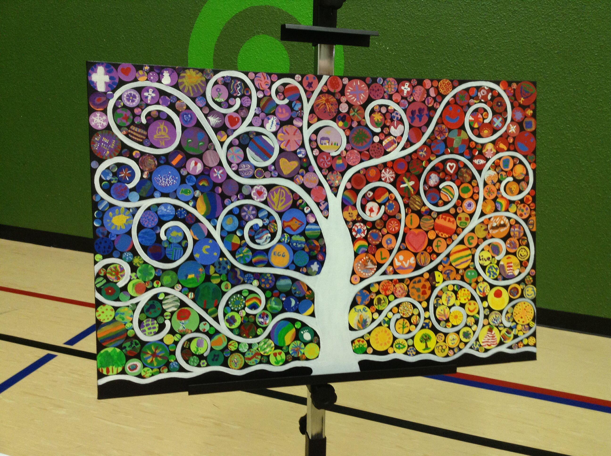 Class Art Project. Schools Silent Auction