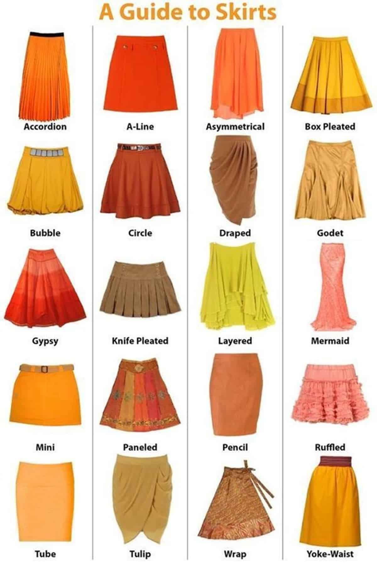 11 DIY Clothes Skirt english ideas