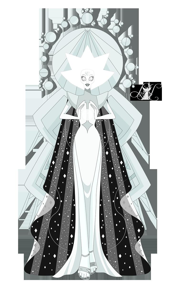 White Diamond Full Body Steven Universe