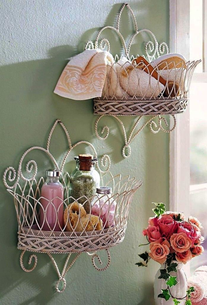 Hints And Tips For Interior Design Shabby chic bathroom